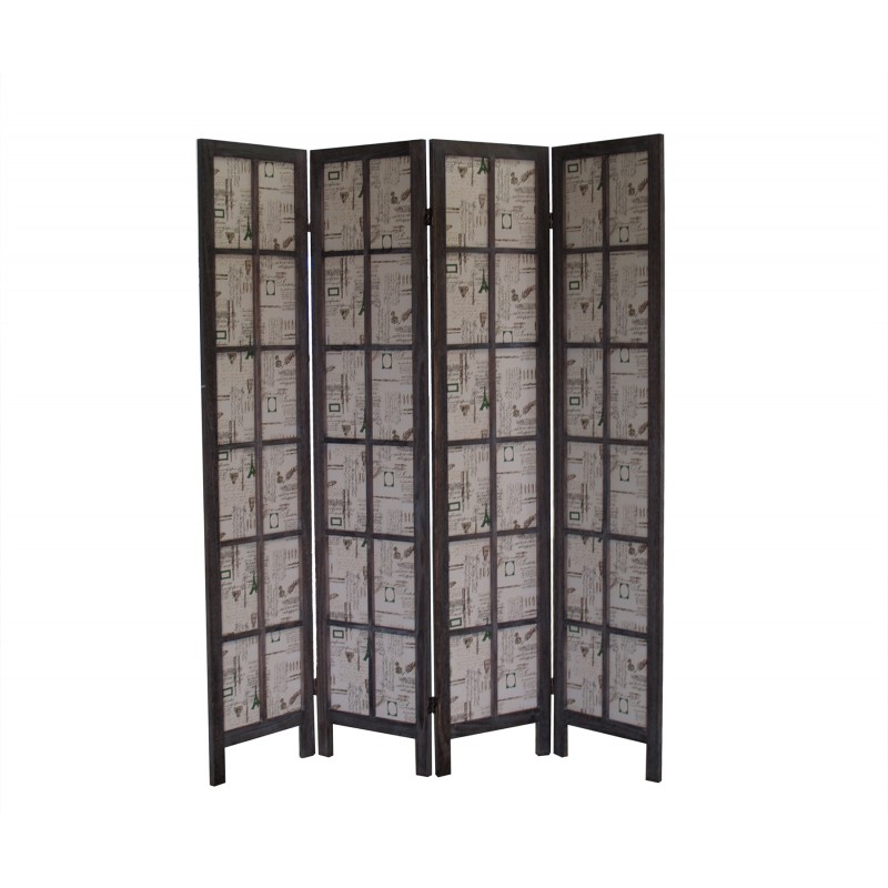 FS16774 Paris Folding Screen
