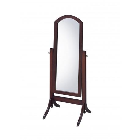 CV17001 Barrington Cheval Walnut Mirror