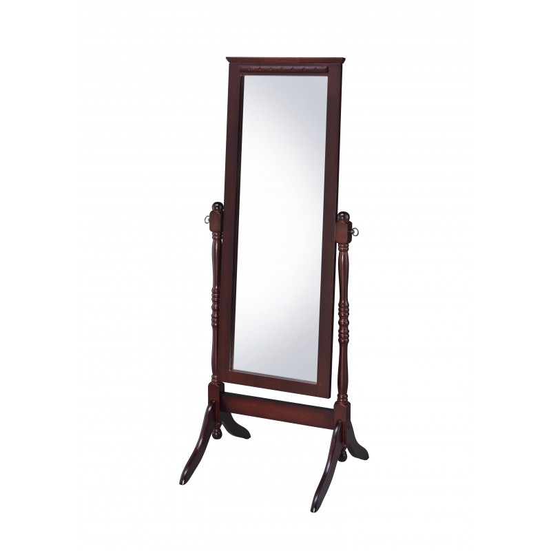 CV17004 Fairfax Cheval Walnut Mirror