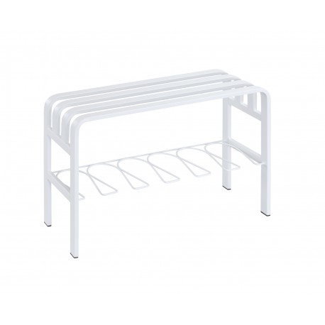ST17049 Horizon Entryway Bench in White
