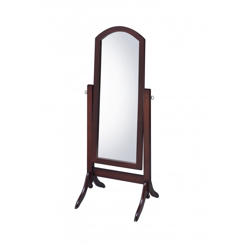 CV17001 Barrington Cheval Walnut Mirror